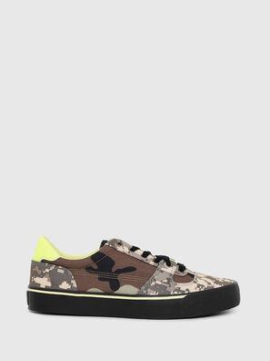 S-FLIP LOW, Armeebraun - Sneakers