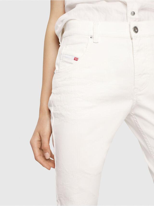Diesel - Krailey JoggJeans 069DS, Weiß - Jeans - Image 3