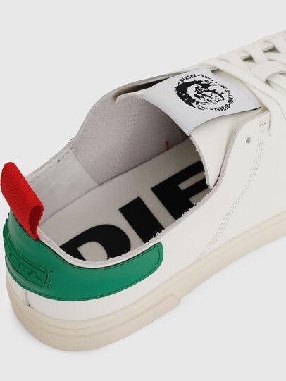 Diesel - S-CLEVER LS, Weiß/Grün - Sneakers - Image 4