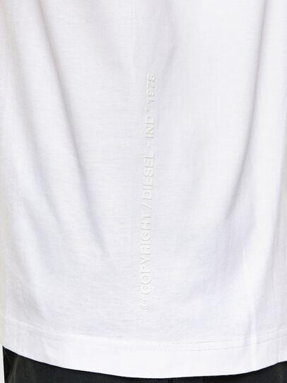Diesel - T-TUBOLAR-N2, Weiß - T-Shirts - Image 4