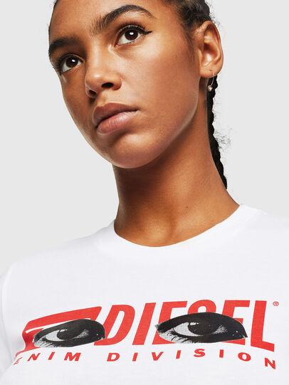 Diesel - T-SILY-YD, Weiß - T-Shirts - Image 3