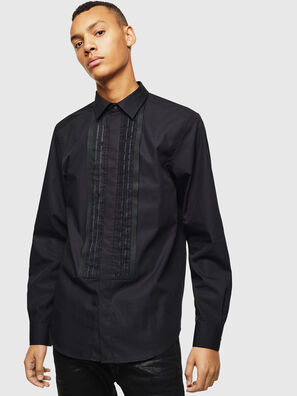 S-PLIS, Schwarz - Hemden