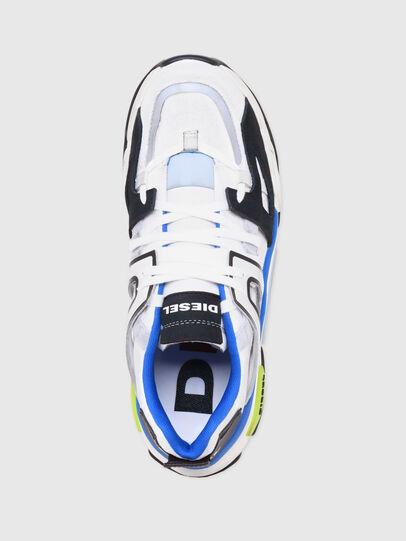 Diesel - S-KIPPER LOW TREK II, Weiss/Schwarz - Sneakers - Image 6