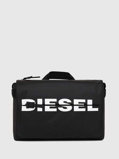 Diesel - F-BOLD MESSENGER II, Schwarz - Schultertaschen - Image 1
