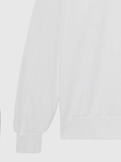 Diesel - S-GIR-HOOD-DIVISION-, Weiß - Sweatshirts - Image 4