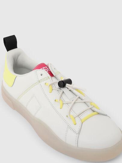 Diesel - S-CLEVER SO C, Weiss/Gelb - Sneakers - Image 4