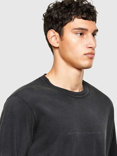 Diesel - T-JUBIND-LS, Schwarz - T-Shirts - Image 3