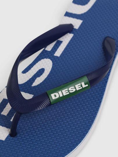 Diesel - SA-BRIIAN, Blau/Weiß - Pantoletten - Image 3