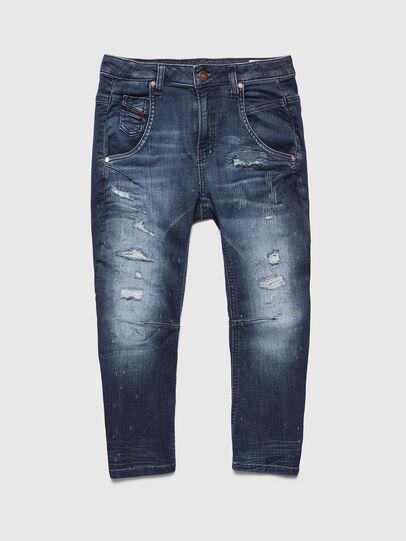 Diesel - FAYZA-J JOGGJEANS-N, Mittelblau - Jeans - Image 1