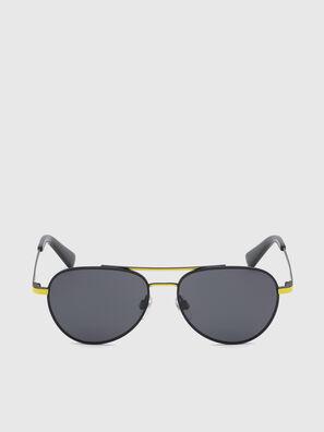DL0291, Schwarz/Gelb - Kid Brillen
