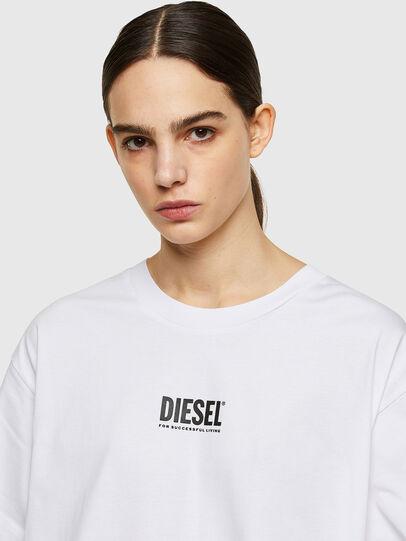 Diesel - D-BOWI-SMALLOGO, Weiß - Kleider - Image 3