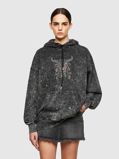 Diesel - F-MAGNUS, Schwarz - Sweatshirts - Image 1