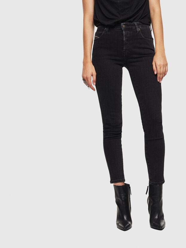 Babhila 0870G, Schwarz/Dunkelgrau - Jeans