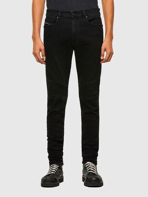 D-Amny 009RB, Schwarz/Dunkelgrau - Jeans