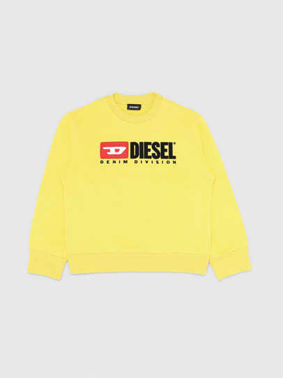 Diesel - SCREWDIVISION OVER, Gelb - Sweatshirts - Image 1