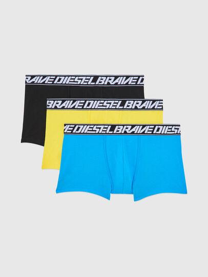 Diesel - UMBX-DAMIENTHREEPACK, Blau/Gelb - Boxershorts - Image 1