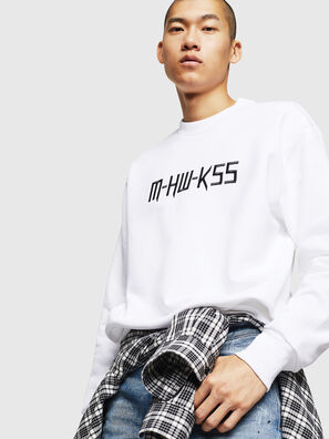 S-LINK-MOHAWK, Weiß - Sweatshirts