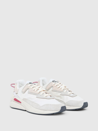 Diesel - S-SERENDIPITY LC W, Weiss/Rosa - Sneakers - Image 2