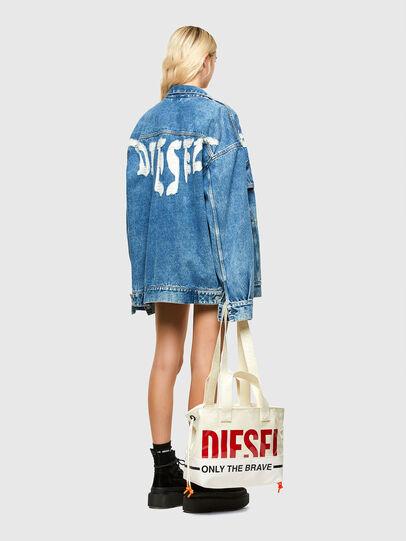 Diesel - ASTI, Weiß - Shopper und Schultertaschen - Image 6