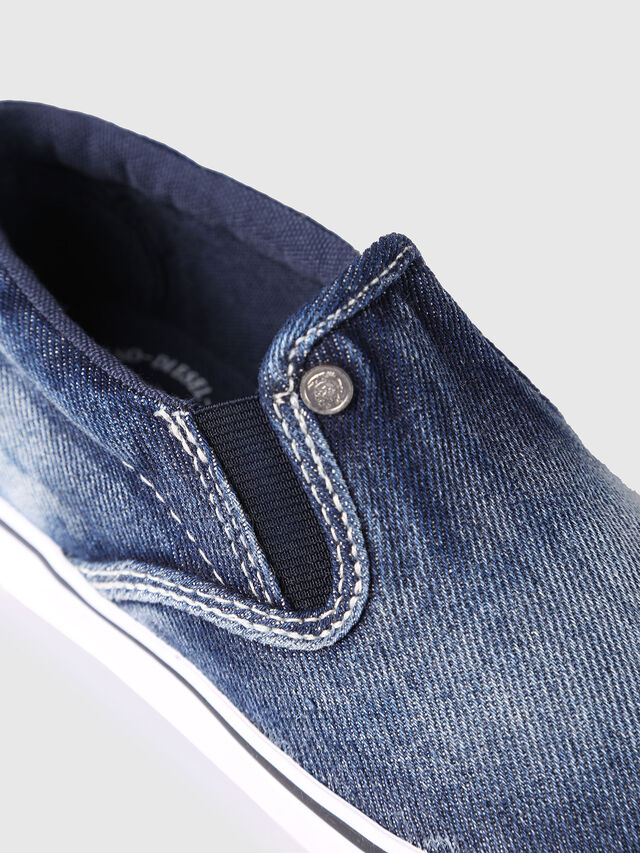KIDS SLIP ON 21 DENIM CH, Jeansblau - Schuhe - Image 4