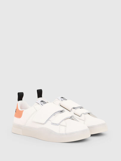 Diesel - S-CLEVER LOW STRAP W, Weiß/Rosa - Sneakers - Image 2