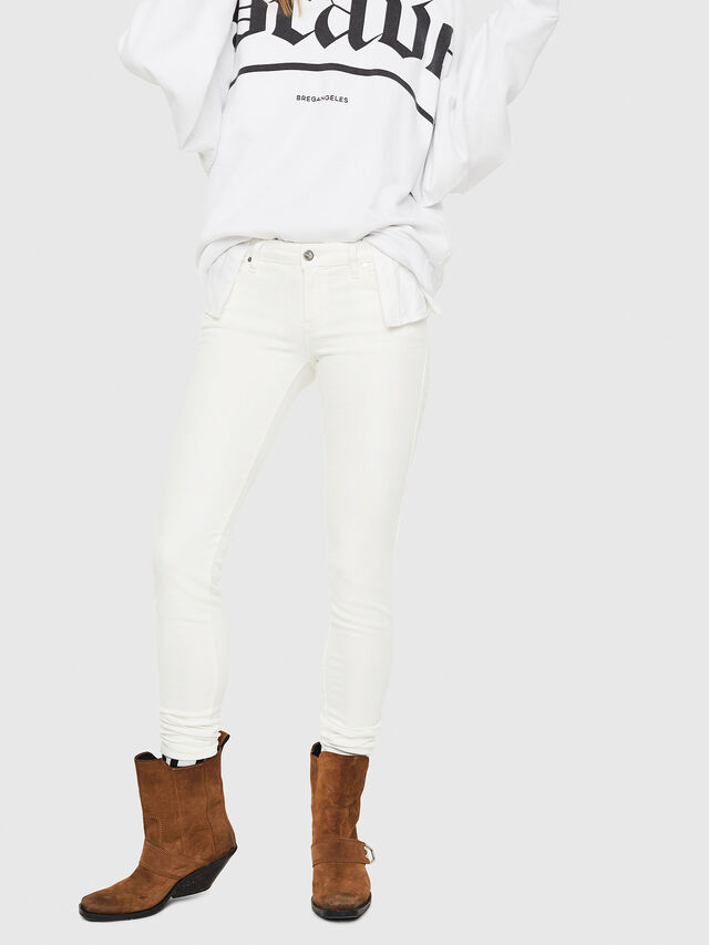 Diesel - Gracey JoggJeans 088AZ, Weiß - Jeans - Image 1