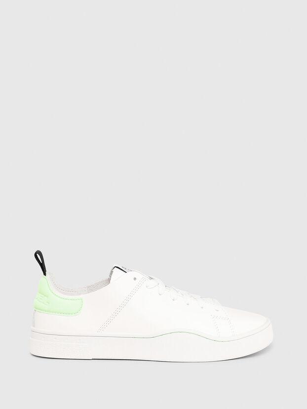 S-CLEVER LS W, Weiß/Grün - Sneakers