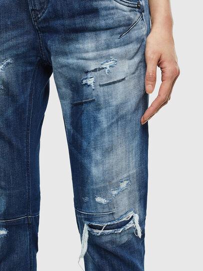Diesel - Fayza JoggJeans 0099S, Dunkelblau - Jeans - Image 4