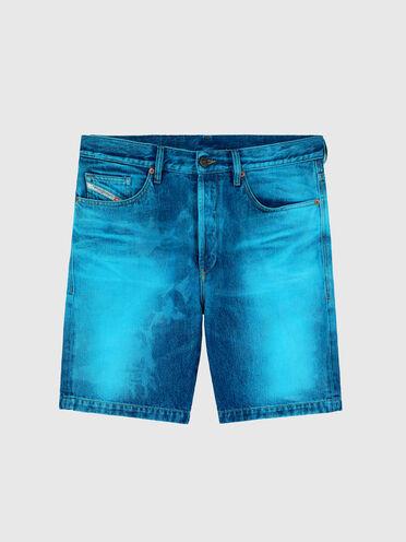Shorts im Straight Fit mit Laserfinish