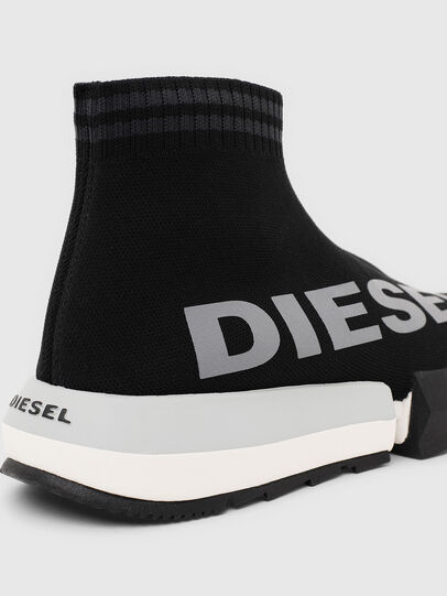 Diesel - H-PADOLA MID SOCK W, Schwarz - Sneakers - Image 6