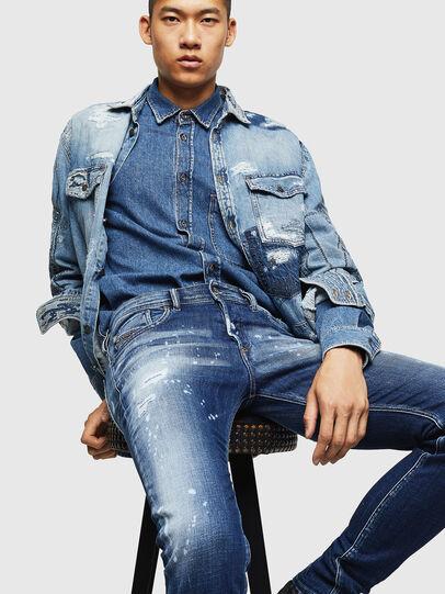 Diesel - Sleenker 0091Y,  - Jeans - Image 4