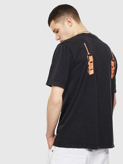 Diesel - T-JUST-T12, Schwarz - T-Shirts - Image 2