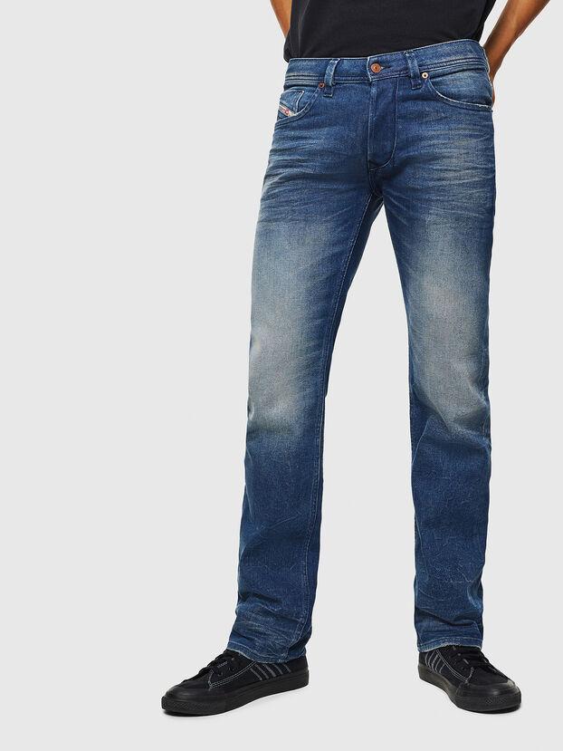 Larkee 0090D, Mittelblau - Jeans