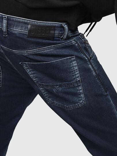 Diesel - Krooley JoggJeans 069HY, Dunkelblau - Jeans - Image 5