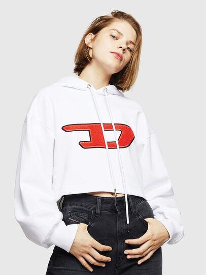 Diesel - F-DINIE-B, Weiß - Sweatshirts - Image 1