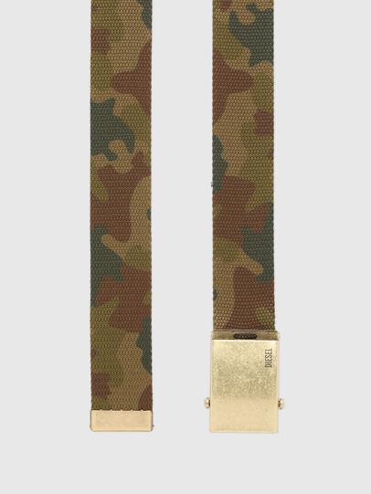 Diesel - B-COMBA, Camouflagegrün - Gürtel - Image 3