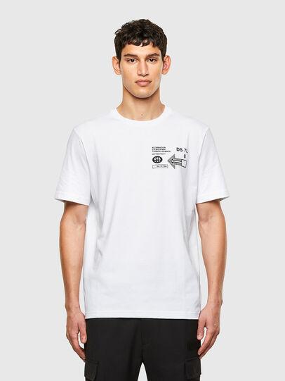 Diesel - T-JUST-A39, Weiß - T-Shirts - Image 1