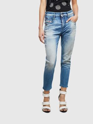 Fayza JoggJeans 0099Q, Mittelblau - Jeans