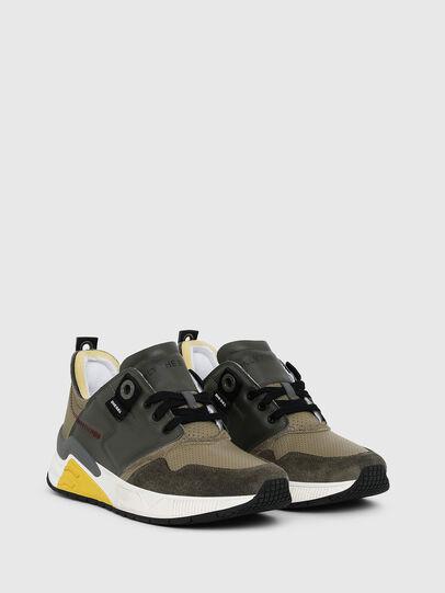 Diesel - S-BRENTHA LC, Armeegrün - Sneakers - Image 2