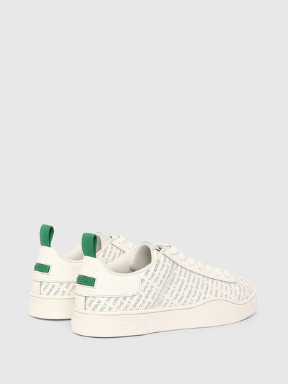 Diesel - S-CLEVER LOW LACE, Weiss/Grün - Sneakers - Image 3