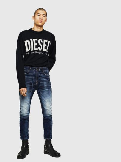 Diesel - D-Vider JoggJeans 069KD, Dunkelblau - Jeans - Image 5