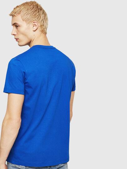 Diesel - T-DIEGO-DIV, Brillantblau - T-Shirts - Image 2