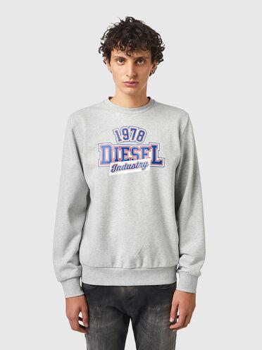 Sweatshirt mit Diesel Industry-Print