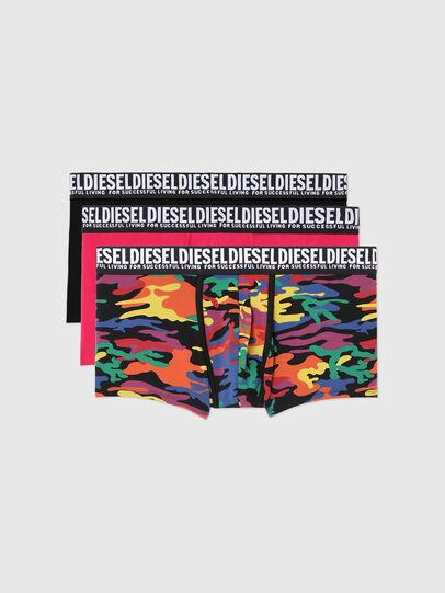 Diesel - UMBX-DAMIENTHREEPACK, Schwarz/Rosa - Boxershorts - Image 1