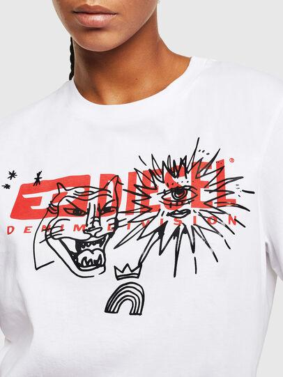 Diesel - T-DARIA-YC, Weiß - T-Shirts - Image 3