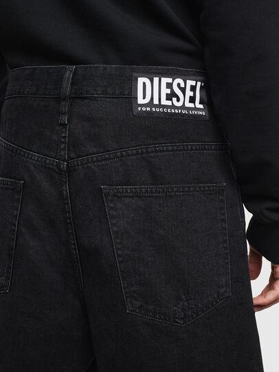 Diesel - D-BRON, Schwarz/Dunkelgrau - Kurze Hosen - Image 4