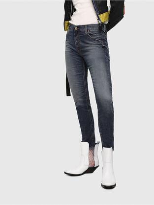 Krailey JoggJeans 069FG, Mittelblau - Jeans