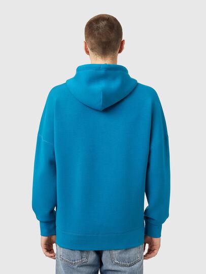 Diesel - S-KRIB-HOOD-ZIP, Blau - Sweatshirts - Image 2