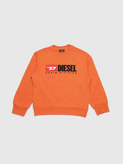 Diesel - SCREWDIVISION OVER, Orange - Sweatshirts - Image 1