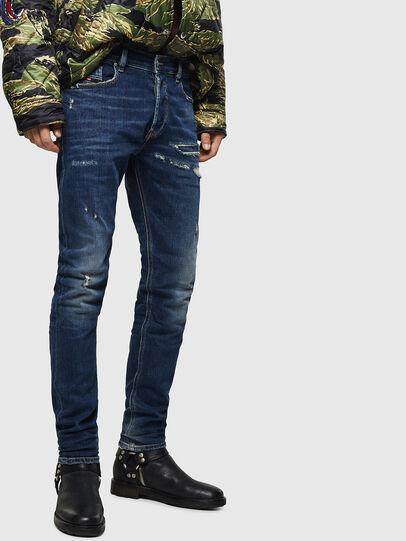 Diesel - Tepphar 0890R, Dunkelblau - Jeans - Image 1